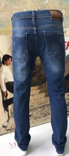 K18/ 231 Ανδρικό Jeans Παντελόνι με σκισίματα και αμμοβολή