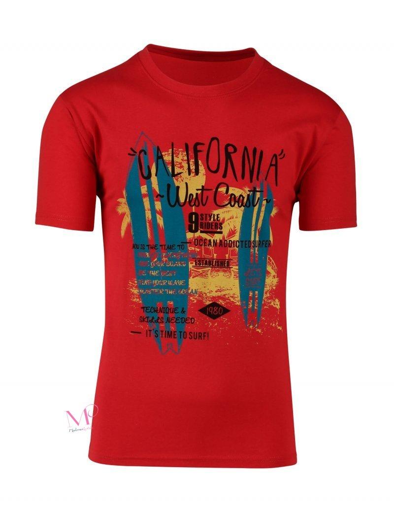 Ανδρικό T-shirt Βαμβακερό Μπλουζάκι σε διάφορες στάμπες - Modernoraptiki de53196fa01