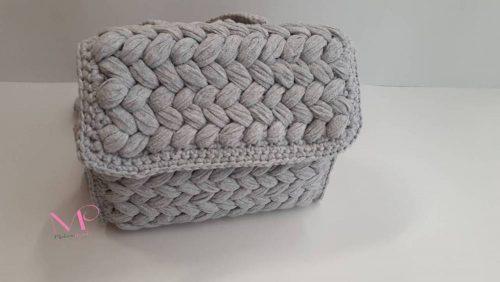 501 Χειροποίητο πλεκτό σακίδιο Back bag