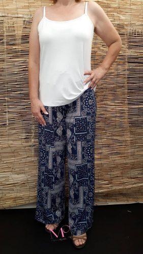 Κ18-3072 Παντελόνα σε ανάγλυφα σχέδια σε ίσια γραμμή από s.jersey