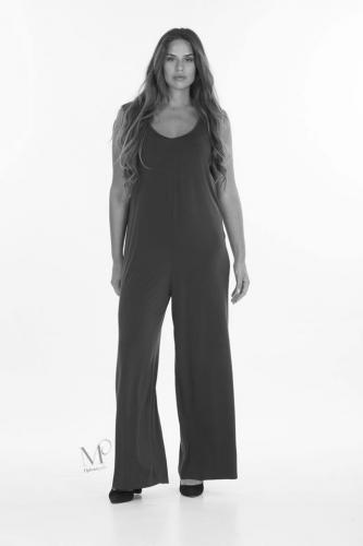 19-92010 Ολόσωμη φόρμα αμάνικη σε s.jersey.