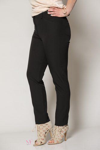 Κ19-805 Μαύρο Παντελόνι κλασσικό 5τσεπο