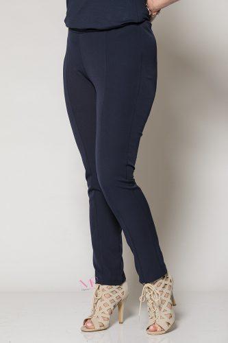 Κ19-80819 Παντελόνι ανορθωτικό Μπλε με λάστιχο Μαίανδρος