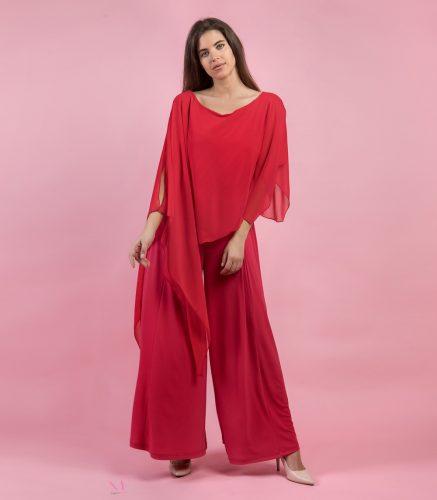 Κ19-84020 Κόκκινο Ολόσωμη φόρμα jersey