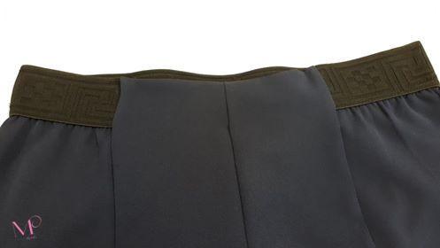 Κ19-80819 Μπλε Παντελόνι ανορθωτικό με λάστιχο Μαίανδρος