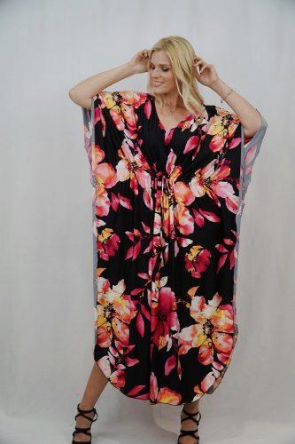Κ19-50165 Φόρεμα - Καφτάνι maxi