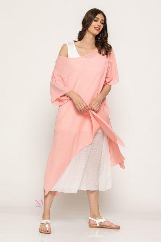 Κ19-64819 Φόρεμα κομποζέ εσωτερικό